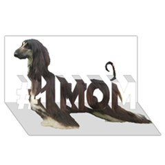 Afghan Hound Full #1 MOM 3D Greeting Cards (8x4)