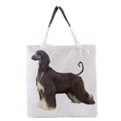 Afghan Hound Full Grocery Tote Bags