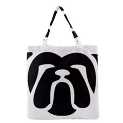 Bulldog Tribal Grocery Tote Bags