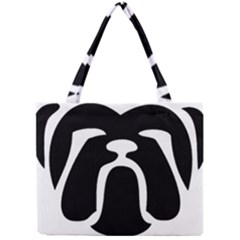 Bulldog Tribal Tiny Tote Bags