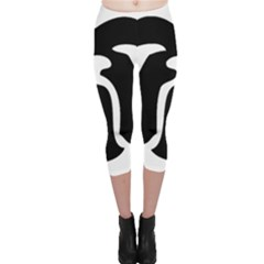 Bulldog Tribal Capri Leggings