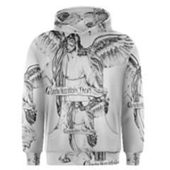 Angel Drawing Men s Pullover Hoodies