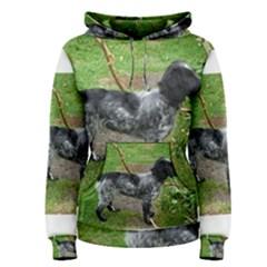 Black Roan English Cocker Spaniel Full 2 Women s Pullover Hoodies