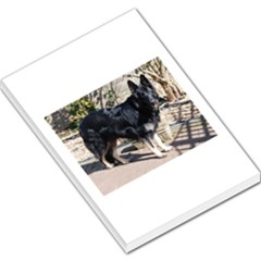 Black German Shepherd Full Large Memo Pads