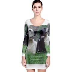 2 Labs Long Sleeve Bodycon Dresses