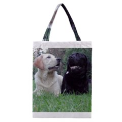 2 Labs Classic Tote Bags