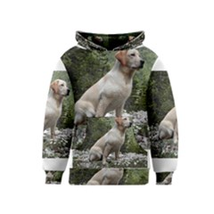 Yellow Lab Sitting Kid s Pullover Hoodies