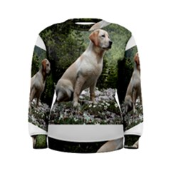 Yellow Lab Sitting Women s Sweatshirts