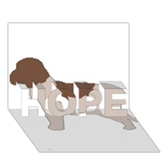 Lagotto Romagnolo Silo Color HOPE 3D Greeting Card (7x5)