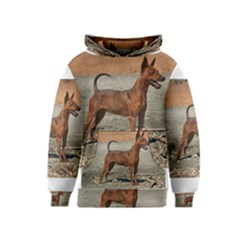 Min Pin Full Kid s Pullover Hoodies