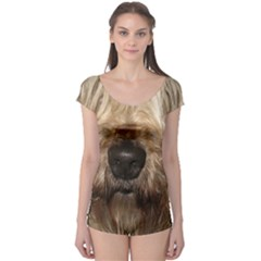 Wheaten Short Sleeve Leotard