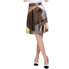 Treeing Walker Coonhound A-Line Skirts