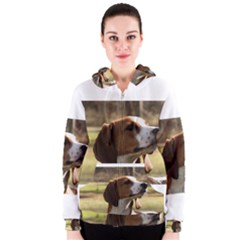 Treeing Walker Coonhound Women s Zipper Hoodies