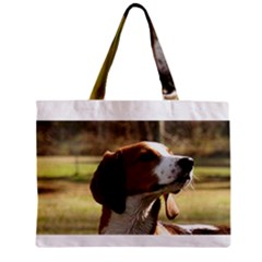 Treeing Walker Coonhound Zipper Tiny Tote Bags