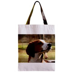 Treeing Walker Coonhound Zipper Classic Tote Bags