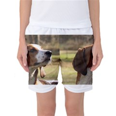 Treeing Walker Coonhound Women s Basketball Shorts