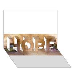 Vizsla Eyes HOPE 3D Greeting Card (7x5)