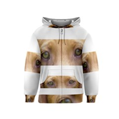 Vizsla Eyes Kids Zipper Hoodies