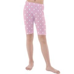 Pink Polka Dots Kid s Swimwear