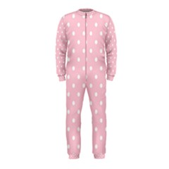 Pink Polka Dots Onepiece Jumpsuit (kids)