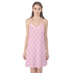 Pink Polka Dots Camis Nightgown