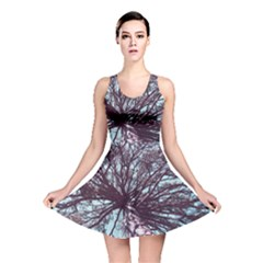 Under Tree Paint Reversible Skater Dresses