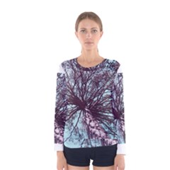 Under Tree Paint Women s Long Sleeve T-shirts