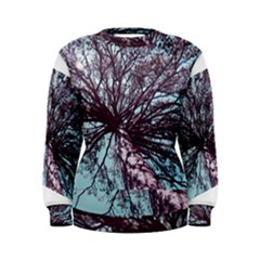 Under Tree Paint Women s Sweatshirts