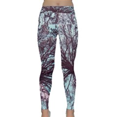 Under Tree Paint Yoga Leggings
