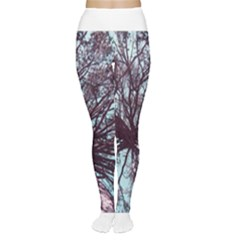 Under Tree Paint Women s Tights