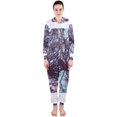 Under Tree Paint Hooded Jumpsuit (Ladies)