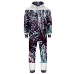 Under Tree Paint Hooded Jumpsuit (men)