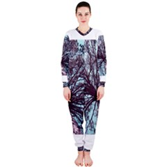 Under Tree Paint Onepiece Jumpsuit (ladies)