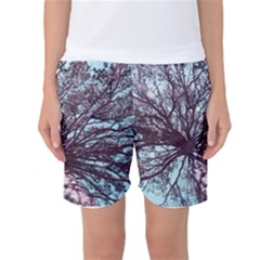 Under Tree Paint Women s Basketball Shorts