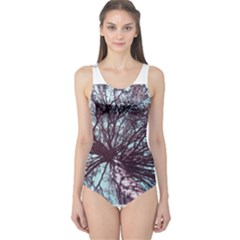 Under Tree Paint Women s One Piece Swimsuits