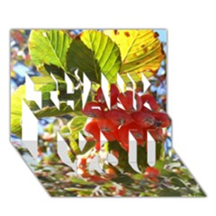 Rowan THANK YOU 3D Greeting Card (7x5)