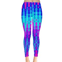 Melting Blues And Pinks Women s Leggings