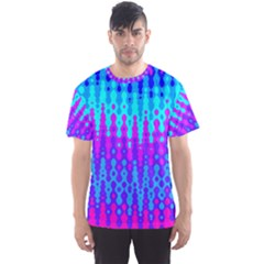 Melting Blues And Pinks Men s Sport Mesh Tees