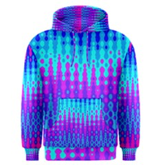 Melting Blues And Pinks Men s Pullover Hoodies