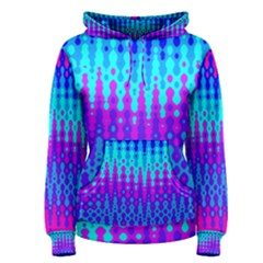 Melting Blues And Pinks Women s Pullover Hoodies