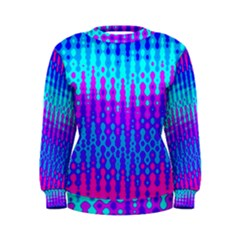 Melting Blues and Pinks Women s Sweatshirts