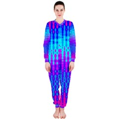 Melting Blues And Pinks Onepiece Jumpsuit (ladies)