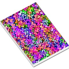 Swirly Twirly Colors Large Memo Pads
