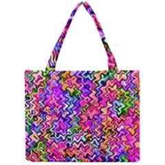 Swirly Twirly Colors Tiny Tote Bags