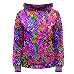 Swirly Twirly Colors Women s Pullover Hoodies