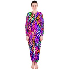 Swirly Twirly Colors OnePiece Jumpsuit (Ladies)