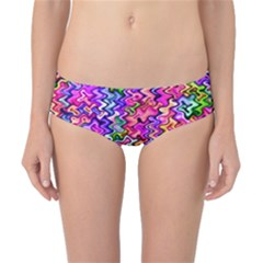Swirly Twirly Colors Classic Bikini Bottoms