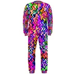Swirly Twirly Colors OnePiece Jumpsuit (Men)