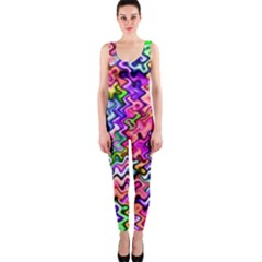 Swirly Twirly Colors OnePiece Catsuits