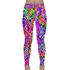 Swirly Twirly Colors Yoga Leggings